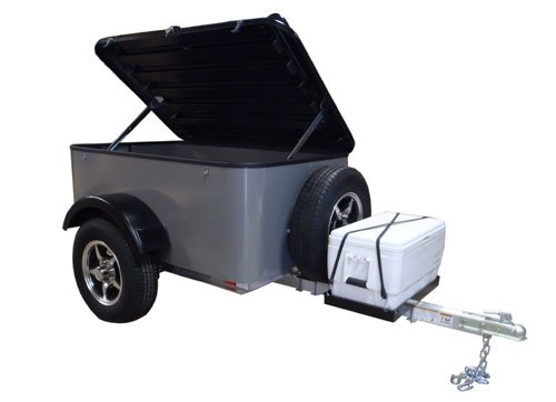 Hybrid Trailer Co Vacationer With Spare Tire And Cooler