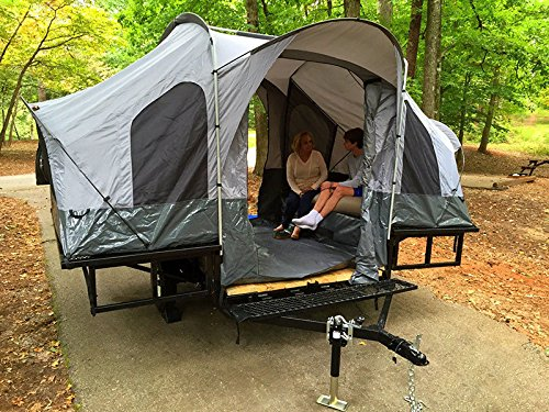 Double Duty Utility Tent Trailer - The Trailer of a Lifetime & Light Teardrop Camper Plans For Motorcycle or Small Car   Roof Top ...