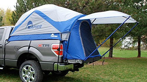 Napier Outdoor Sportz Truck Tent u2013 Compact Bed Dimensions 60L x 68H in. Made from polyester taffeta Fit for compact 5 ft. truck beds Works with sprayed or ... & NAPIER | Roof Top Tent Store