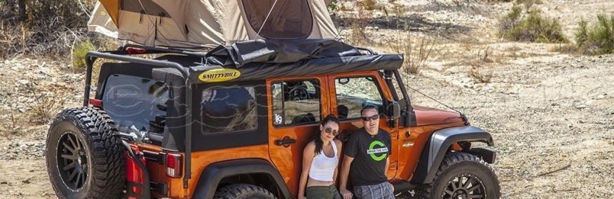 Smittybilt 2783 Folded Tent for Jeeps u0026 other 4×4u0027s & Smittybilt 2783 Folded Tent for Jeeps u0026 other 4×4u0027s | Roof Top ...