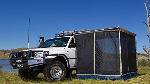 ARB ARB3109US Rooftop Tent Awnings and C&ing Gear ARB Mosquito Net For The ARB Awning 2500 ARB 4×4 Accessories ARB3109A Mozzie Net Awning; ... & Awnings | Roof Top Tent Store