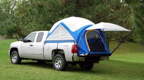 Napier u2013 57044-32 u2013 Sportz Truck Tent Compact Short Bed and Air Mattress & Napier u2013 57044-32 u2013 Sportz Truck Tent Compact Short Bed and Air ...